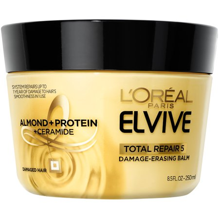 L'Oreal Paris Elvive Total Repair 5 Damage-Erasing Balm 8.5 FL (Treatment Finishing Balm)