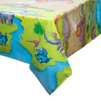 Dinosaur Plastic Party Tablecloth, 84 x 54in