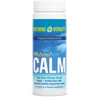 Natural Vitality Natural Calm Original (Unflavored) Magnesium Dietary Supplement, 8 oz