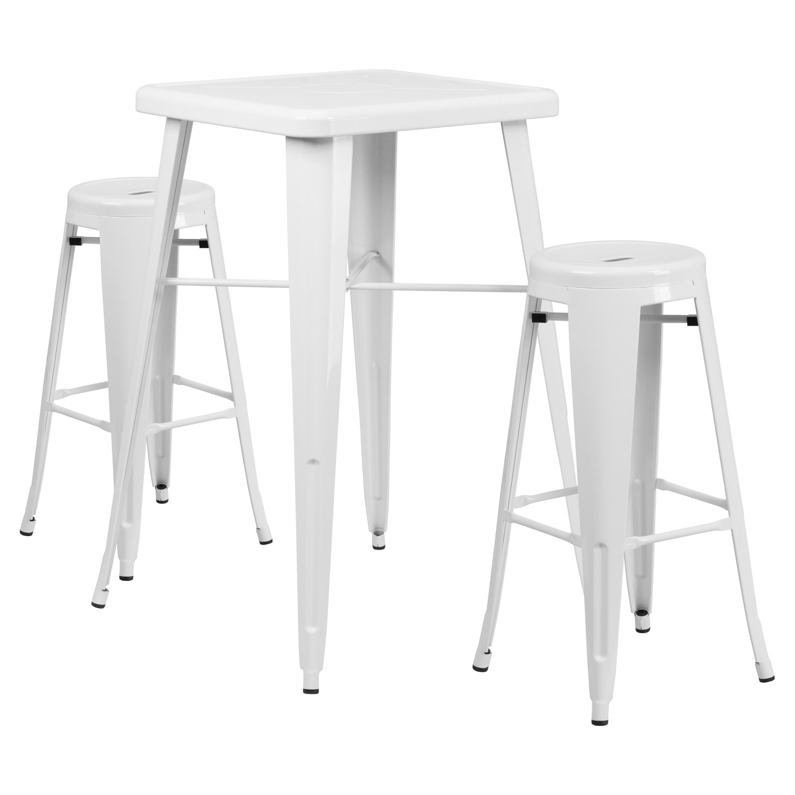 White Pub Tables