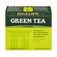 (4 Pack) Bigelow Green Tea, Classic, Tea Bags, 40 Ct