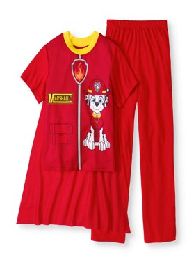 Paw Patrol Boys' Costume Play 2 Piece Pajama Sleep Set