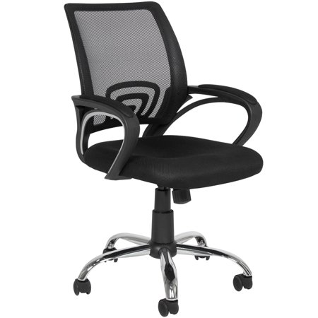 Best Choice Products Ergonomic Mesh Computer Office Desk Task Midback Task Chair w/Metal Base - Knoll Desk Chairs