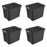 Sterilite, 27 Gal./102 L Stacker Tote, Case of 4