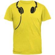 Headphones Yellow Youth T-Shirt