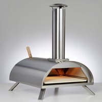 WPPO Portable Table Top Wood / Charcoal Fired Pizza Oven With Cooking Kit