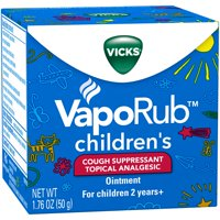 Vicks VapoRub Children's Cough Suppressant Ointment 1.76oz