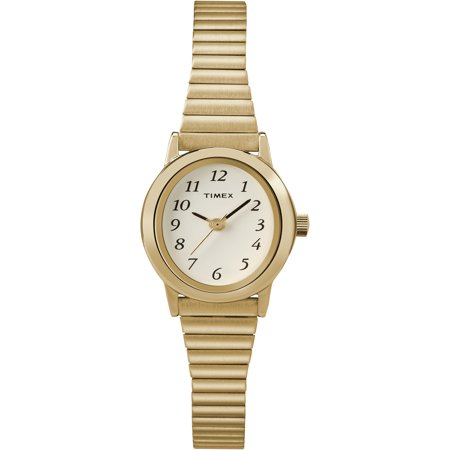 Timex Clip Watch - Timex Women's Cavatina Gold-Tone Stainless Steel Expansion Band Watch