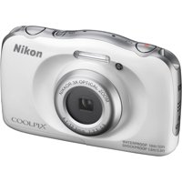 Nikon Coolpix W100 Wi-Fi Shock & Waterproof Digital Camera (White)
