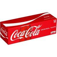 Coca-Cola Original Flavored Soda, 12 Fl. Oz., 12 Count