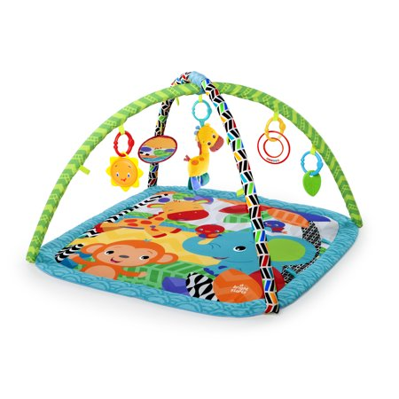 Bright Starts Activity Gym with Take-Along Toys - Zippy Zoo - Bright Starts Pretty In Pink