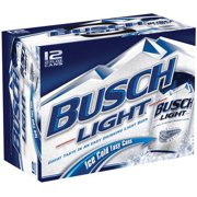 Busch Light Beer 12 pack, 12 fl oz