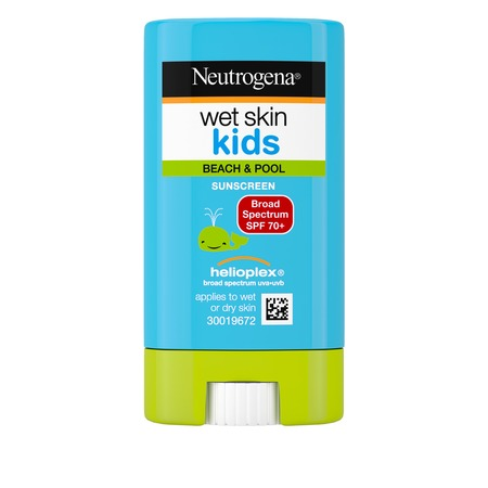 Neutrogena Wet Skin Kids Sunscreen Stick, SPF 70, 0.47