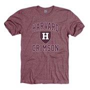 1109684a4 Harvard Crimson Men s Tri blend T-Shirt