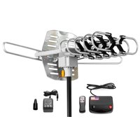 Super Outdoor TV Antenna with Amplifier - 150 miles