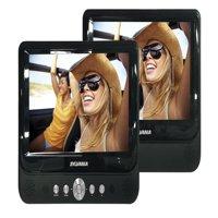 "Sylvania Premium 9"" Dual Screen Portable DVD Player, Black SDVD9957"