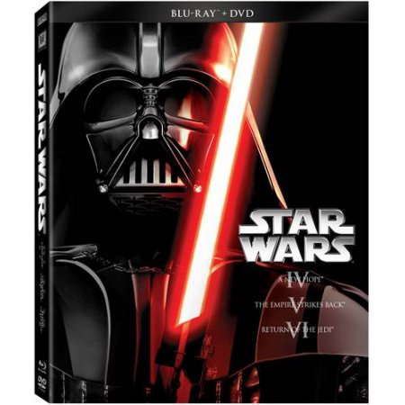 Star Wars: The Original Trilogy - Episode IV- A New Hope / Episode V- The Empire Strikes Back / Episode VI- Return Of The Jedi (Blu-ray + DVD) (All Simpsons Halloween Episodes)