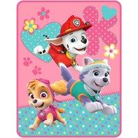 Nickelodeon's Paw Patrol Pup Heroes Kids Plush Throw, 46 x 60