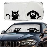 Car Windshield Sunshade with Pet Design(59