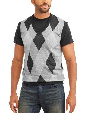 Sahara Club Men's Argyle Sweater vest