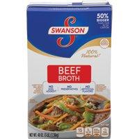 (2 Pack) SwansonBeef Broth, 48 oz. Carton