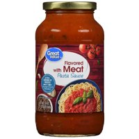 (6 Pack) Great Value Meat Flavored Pasta Sauce, 24 oz