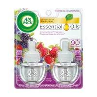 Air Wick Scented Oil 2 Refills, Wild Berries, (2X0.67oz), Air Freshener
