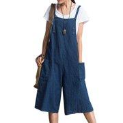 a35cb45e35e Womens Jumpsuits Strap Dungaree Overalls Harem Jeans