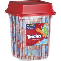 (2 Pack) Twizzlers, Rainbow Twists Licorice Chewy Candy, 27.5 Oz