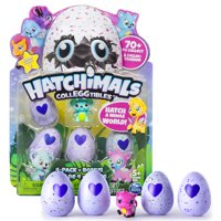 Hatchimals, CollEGGtibles, 4Pack + Bonus (Styles & Colors May Vary) by Spin Master