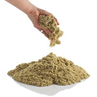 CoolSand Natural 2 Pound Refill Pack - Moldable Indoor Play Sand in Resealable Bag