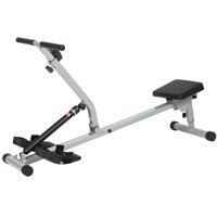 Best Choice Products Electric Rowing Machine for Home Gym, Fitness, Exercise Equipment, Cardio - Black/Gray