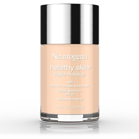 Neutrogena Healthy Skin Liquid Makeup Foundation, Broad Spectrum Spf 20, 40 Nude, 1 Oz. - Pale Skin Halloween Makeup