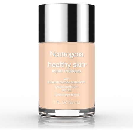 Neutrogena Healthy Skin Liquid Makeup Foundation, Broad Spectrum Spf 20, 40 Nude, 1 (Best Makeup For Wrinkled Skin)