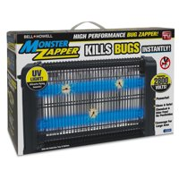 Monster Zapper by Bell + Howell, Powerful Indoor Electric Bug and Fly Zapper