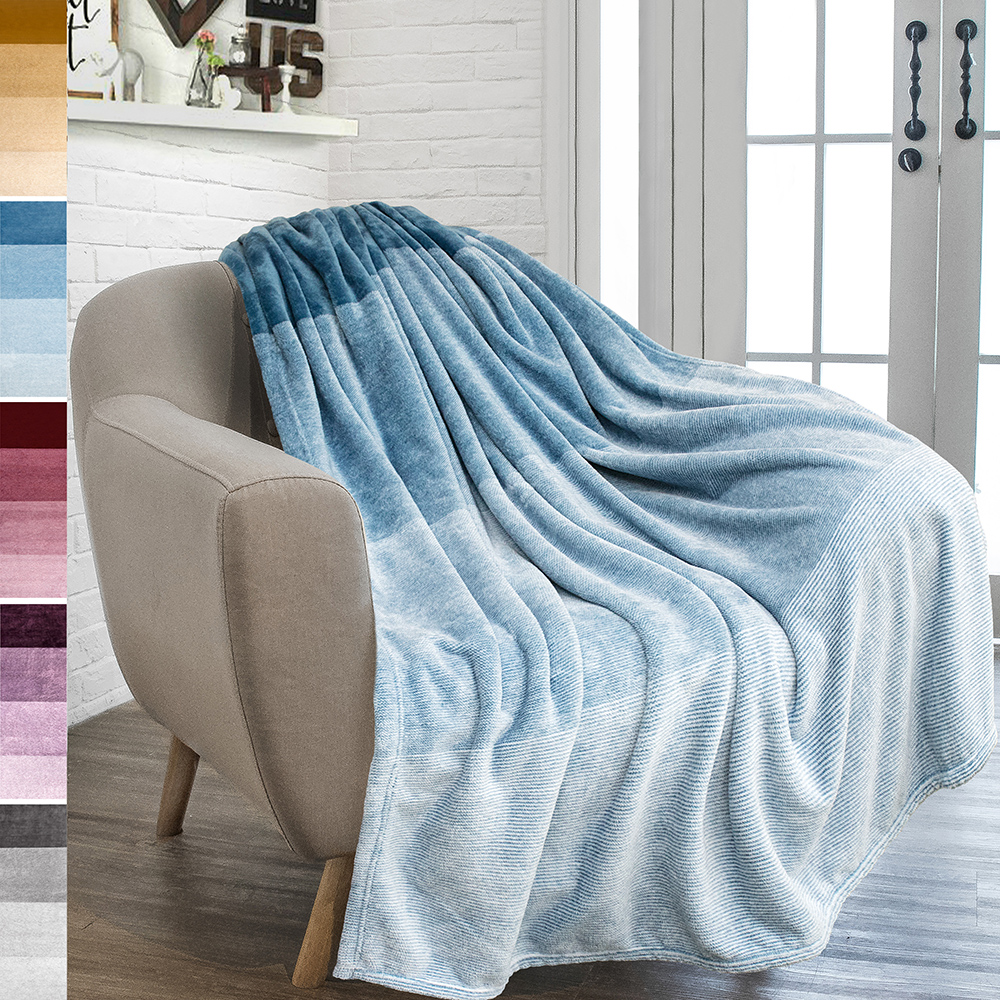 All Season Berber Fleece Throw Blanket Fuzzy Cozy Navy Premium Reversible Two In One Sherpa And Sculpted Velvet Plush Luxury Blanket By Home Fashion Designs Brand Bed Blankets Bedding Linen