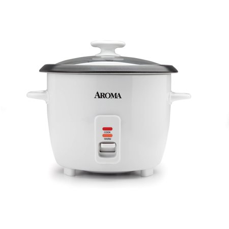 Aroma 14 Cup Non-Stick & Dishwasher Safe White Rice (Best Home-app Rice Cookers)