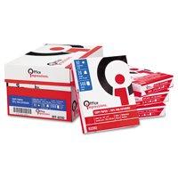 "Office Impressions 8-1/2""x11"" Bulk Copy Paper, Case of 10 Reams (500 Sheets Per Ream)"