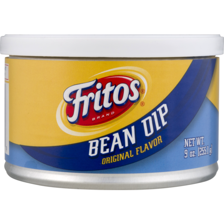 - Fritos Original Flavor Bean Dip, 9 Oz.