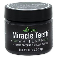 As Seen On Tv Miracle Teeth Whitener - Natural Charcoal Based Teeth Whitening