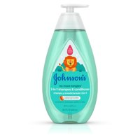 Johnson's Detangling 2-in-1 Kids Shampoo & Conditioner, 20.3 fl oz