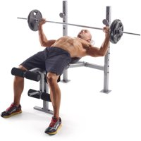 Gold's Gym XR 6.1 Weight Bench with Leg Developer