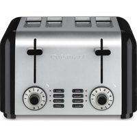 Cuisinart Hybrid Stainless 4-Slice Toaster, Brushed Stainless CPT-340
