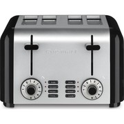Best 4 Slice Toasters - Cuisinart CPT-340 Compact Stainless 4-Slice Toaster, Brushed Stainless Review