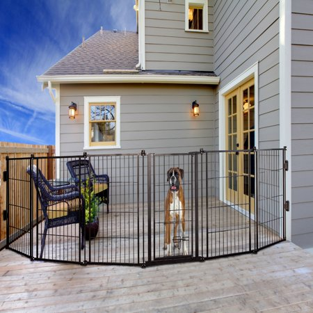 Carlson 144 Inch Super Wide Heavy Duty Gate And Pet Pen