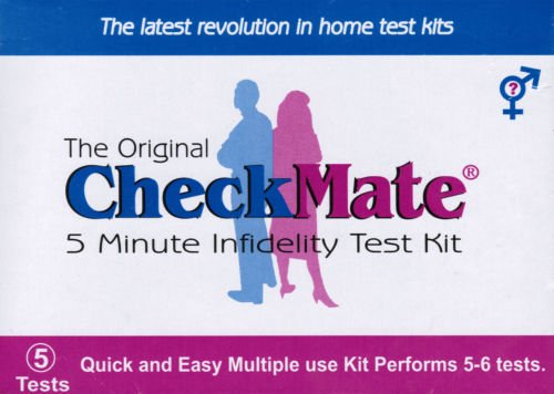 CheckMate Infidelity test kit (Catch a Cheating (The Best Home Dna Test)