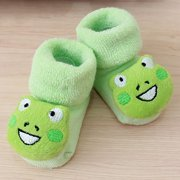 20719be5123fc Outtop Cartoon Newborn Kids Baby Girls Boys Anti-Slip Warm Socks Slipper  Shoes Boots