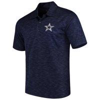 Men's Heathered Navy Dallas Cowboys Drakar Polo