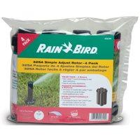 "Rain Bird 32SA/4PKS Simple Adjust Closed-Case 1/2"" Inlet Gear Drive Rotor Sprinkler 4 Pack"