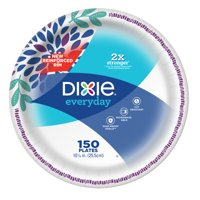 """Dixie Everyday Paper Dinner Plates, 10"""", 150 Count"""